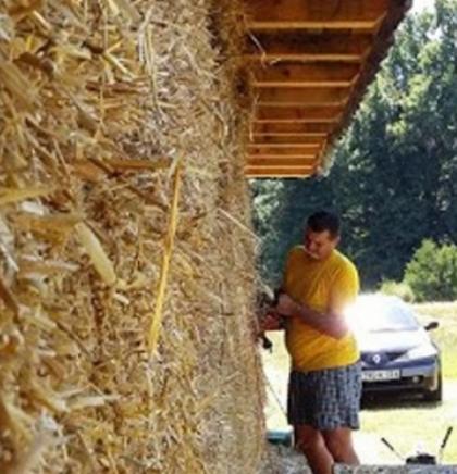 Dom Biljane i Aleksandra od prirodnih materijala, prilagođen savremenom životu