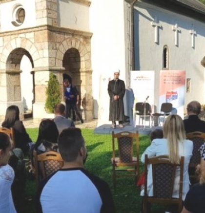 Manifestacija 'Dani knjige u porti crkve - 500 godina goraždanske štamparije'