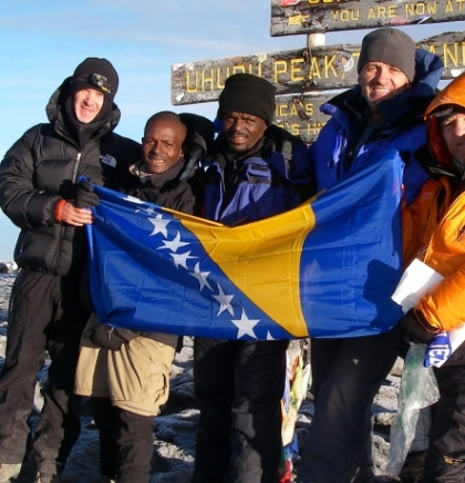 "Naim Logić: Prvi Bosanac koji je osvojio  ""Seven summmits Challenge"""