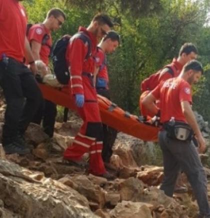 Na Brdu ukazanja u Međugorju spašena teško ozlijeđena Poljakinja