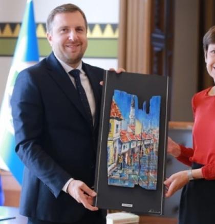 Gradonačelnik Skaka primio u nastupnu posjetu ambasadoricu Njemačke, Margret Marie Uebber