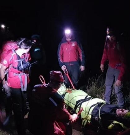 Na Kamešnici spašena planinarka iz Sarajeva