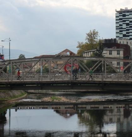 Eiffel's bridge in Sarajevo