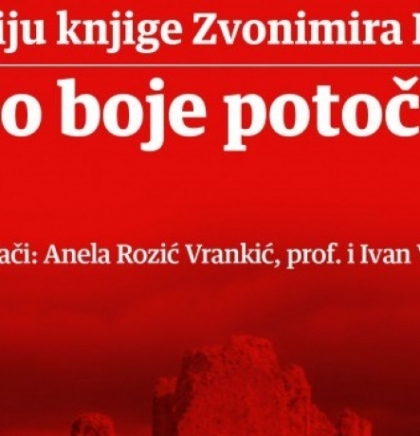 """Predstavljanje knjige Ljubušaka Zvonimira Mikulića """"Nebo boje potočnice"""" bit će upriličeno u maloj dvorani Hrvatskog doma herce"""