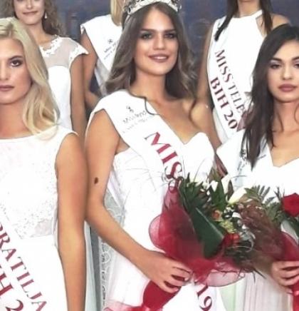 Ivana Ladan izabrana za Miss BiH za 2019.