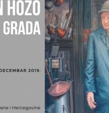 Izložbom 'Portreti grada' Irfan Hozo obilježava 40 godina bavljenja umjetnošću