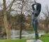 Skulptura 'Djevojka sa Une' nakon restauracije ponovno vraćena u grad Bihać