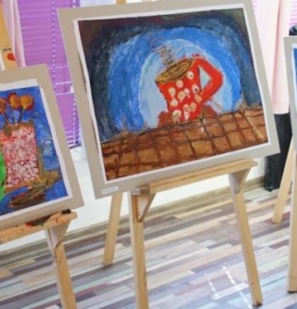 Otvorena izložba likovnih radova djece i mladih osoba s invaliditetom
