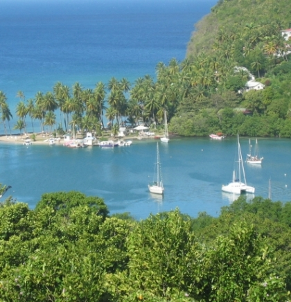 OD MILJACKE DO MORA I OKEANA: St. Lucia, ostrvo nobelovaca
