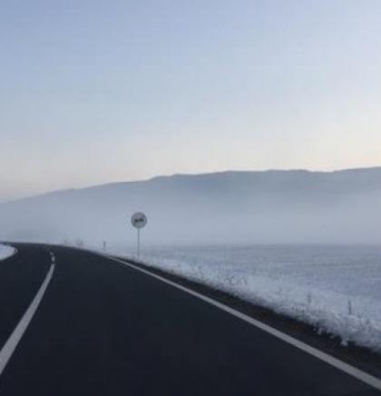 Poledica i snijeg u višim predjelima, na mostovima i prilazima tunelima