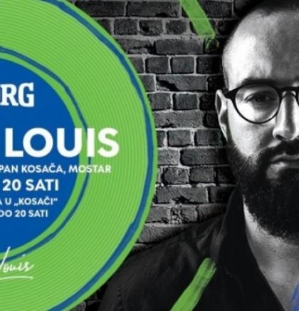 Prvi solistički koncert Marka Louisa u Mostaru