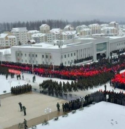 Slavlje s vatrometom u Sjevernoj Koreji, Kim otvorio novi grad