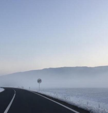 BIHAMK- Magla smanjuje vidljivost, kolovozi mokri, opasnost od odrona