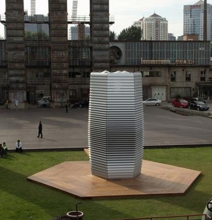 (VIDEO) Holandska inovacija: Toranj koji usisava smog