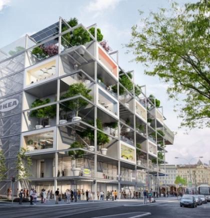 IKEA gradi svoju ''najzeleniju'' trgovinu do sada u centru Beča