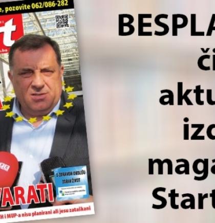 BESPLATNO čitajte magazin START BiH