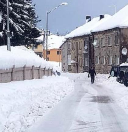 Snijeg sve do kraja sedmice, na zapadu i sjeveru Bosne i do 25 cm