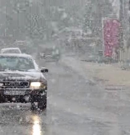 Otežan saobraćaj, posebno u višim predjelima, zbog snijega