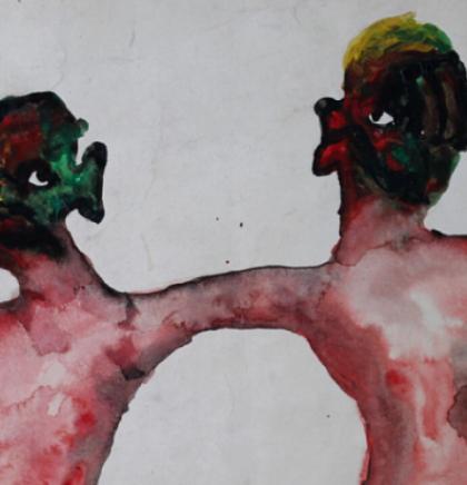 Izložba 'Koma' autora Nebojše Šerića Šobe u Umjetničkoj galeriji BiH