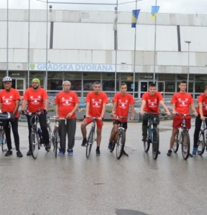Maratonci i biciklisti na putu ka Srebrenici jutros kreću iz Jajca