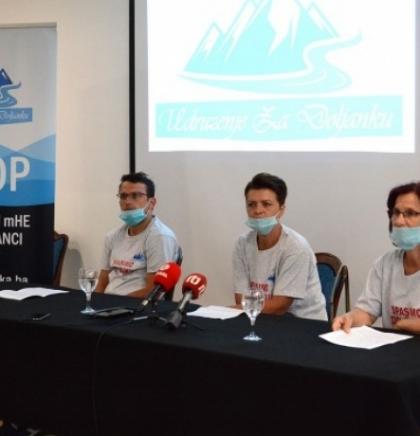 Udruženje 'Za Doljanku'- Preispitati okolinsku dozvolu za mHE na rijeci Doljanci
