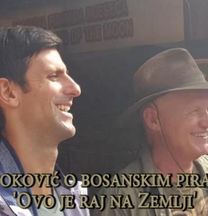 (VIDEO)Novak Đoković o bosanskim piramidama: 'Ovo je raj na Zemlji'