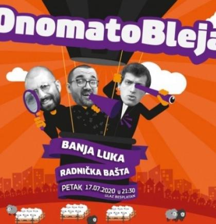 'Onomatobleja Show' stiže u Banja Luku