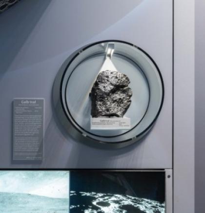 Jedan od najvećih mjesečevih meteorita izložen u Beču