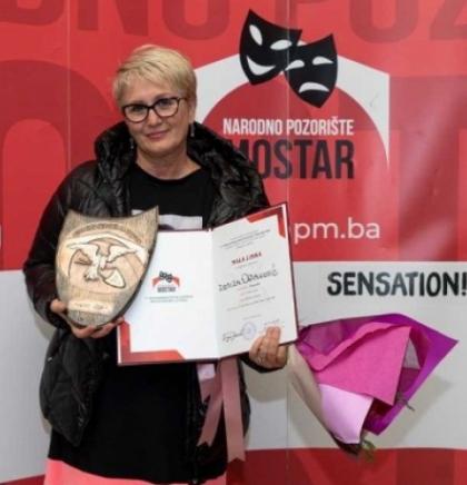 'Mala liska' za Remiru Osmanović, večeras predstava 'Sjećaš li se Doli Bel'