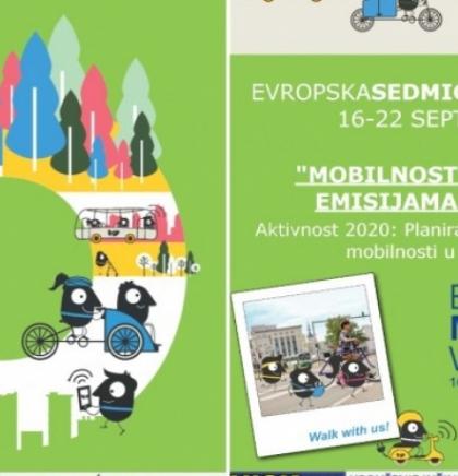 Kampanja 'Planiranje održive urbane mobilnosti' na Vilsonovom šetalištu