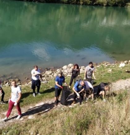 Mještani nekoliko lokalnih zajednica očistili rijeke od velikih količina otpada