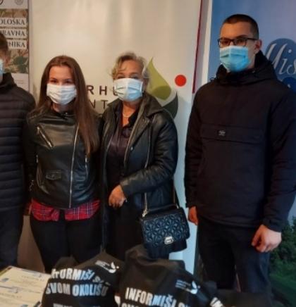 Aarhus centar u BiH - Održano takmičenje za Svjetski dan čistog zraka