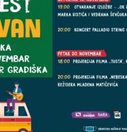 Nektar Ok Fest karavan sutra stiže u Gradišku