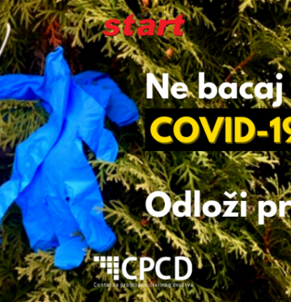 EKOLJUBLJA: Ne bacaj COVID-19 otpad, ODLOŽI PRAVILNO!