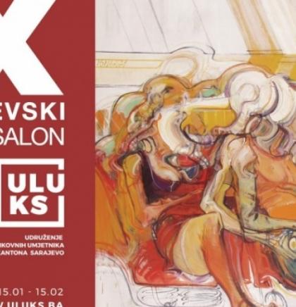 Virtualna izložba - Deveti sarajevski salon u sazvučju divergentnosti