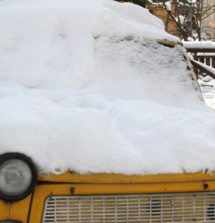 Zimska idila u Velikoj aleji