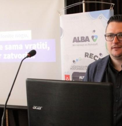 Zenička Alba razvila mobilnu aplikaciju za pravilno postupanje sa otpadom