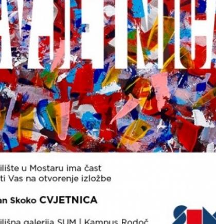 U Galeriji SUM izložba 'Cvjetnica' akademskog kipara Stjepana Skoke
