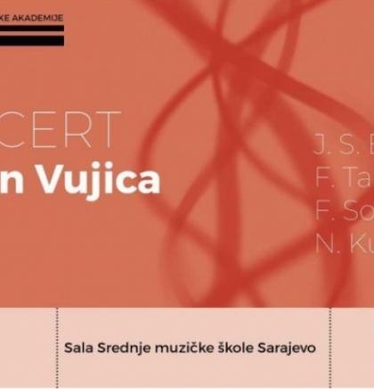 Muzička akademija UNSA - Online koncert gitariste Vedrana Vujice 29. marta