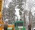Beč - Hibridne dizalice za maksimalnu zaštitu šuma