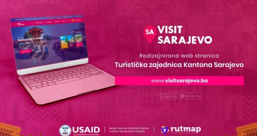 Redizajnirana web stranica Turističke zajednice KS