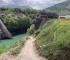 Porušeni most na Neretvi na ljeto u punom sjaju