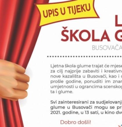 """""""Ljetna škola glume"""" u Busovači"""
