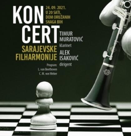 Sarajevska filharmonija nastavlja koncertne aktivnosti