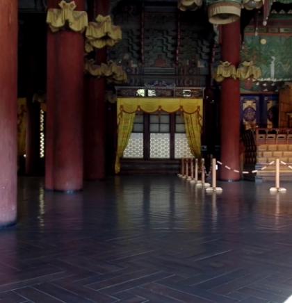 Seul, Južna Koreja: Unutrašnjost kraljevske palace