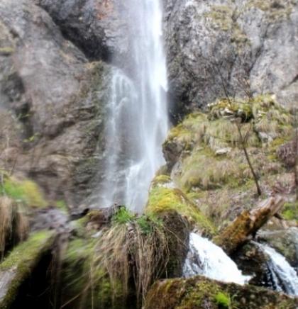 Treskavica: vodopad Skok