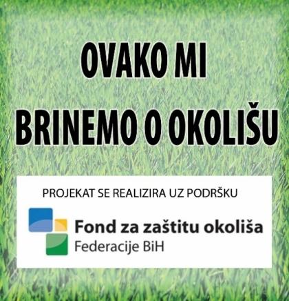 """GLEDAJ I UČI: Edukativni fotoalbum""""Ovako mi brinemo o okolišu"""""""