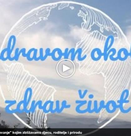 "U zdravom okolišu zdrav život/""Porodično""pošumljavanje (VIDEO)"