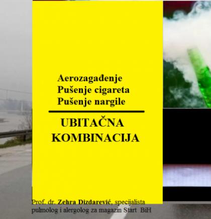 U zdravom okolišu zdrav život/Ubitačna kombinacija: aerozagađenje, pušenje cigareta i nargile