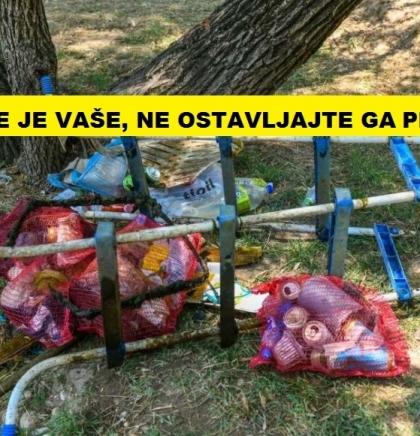 U zdravom okolišu zdrav život/Budite odgovoran pojedinac, ne ostavljajte smeće za sobom